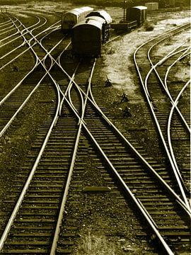 sporen van verleden...oostelijk havengebied, A'dam van joke van vlijmen