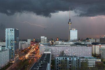 Des orages au-dessus de Berlin sur Robin Oelschlegel