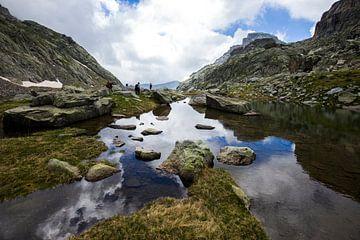 Ruige natuur in de Mercantour in Frankrijk sur Rosanne Langenberg