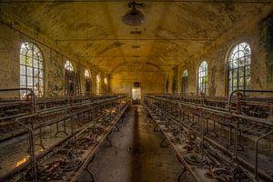 Verlassene Fabrikhalle Italien