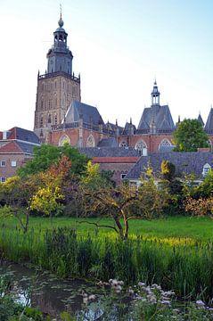 Toren in Zutphen van Jaimy Buunk