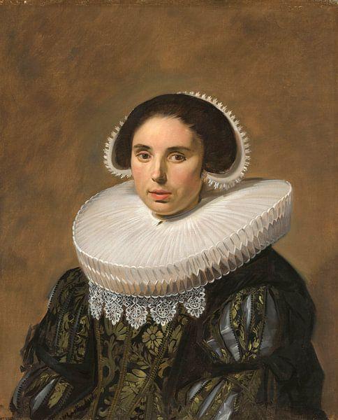 Portret van een vrouw, Frans Hals van Meesterlijcke Meesters