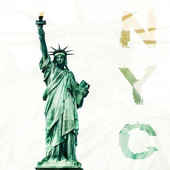 NYC - Lady Liberty van Hannes Cmarits