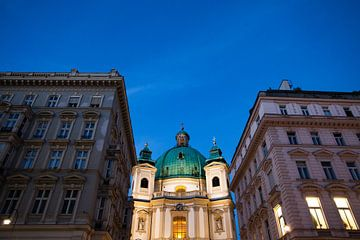 Doorkijkje in Wenen van Irene Lantman