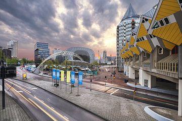 Centrum Rotterdam von Luc Buthker