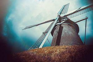Molen Maallust - Amerongen (Nederland) van