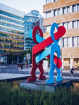 Berlin – Keith Haring: Boxers van