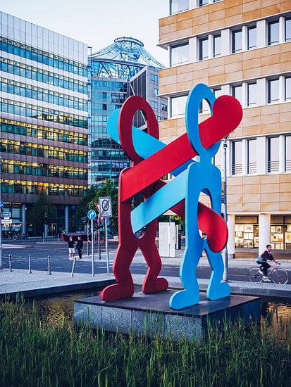 Berlin – Keith Haring: Boxers