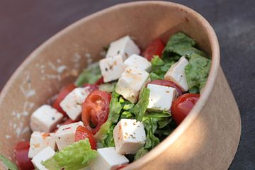 Heerlijke salade van Augenblicke im Bild