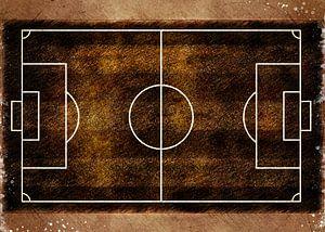 Voetbal speler sport kunst #football #soccer