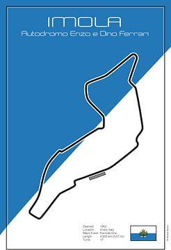 Racetrack Imola von Theodor Decker
