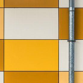 Gitter mit Abflussrohr von Patrick Verhoef