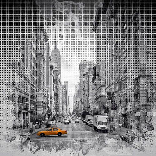Graphic Art NEW YORK CITY 5th Avenue