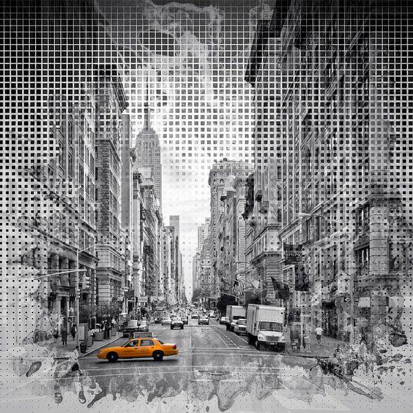 Graphic Art NEW YORK CITY 5th Avenue von Melanie Viola