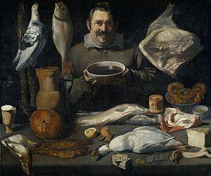 Keukenstuk (bodegone), Meester van de Amsterdamse Bodegón