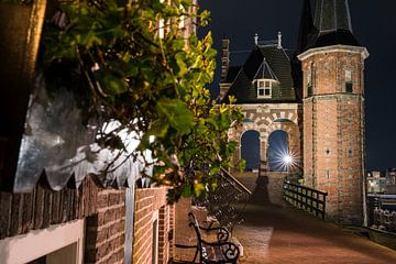 Watertoren van Sneek in de avond van Fotografiecor .nl