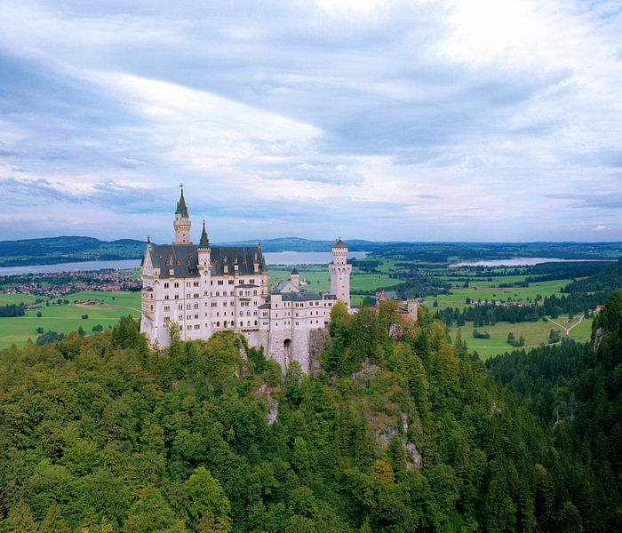 Slot Neuschwanstein van Erwin Zeemering