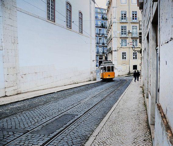 Lijn 28 in Lissabon