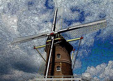 Hollandse molen van Jose Lok