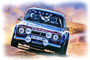 Ford Escort Rallye von Jean-Louis Glineur alias DeVerviers