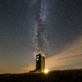Milkyway in Harz mountains van Oliver Henze