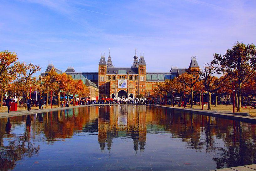 Amsterdam, Rijksmuseum van Fikri calkin