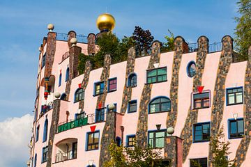 Maison Hundertwasser à Magdeburg sur Werner Dieterich