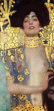 Judith and the Head of Holofernes -Gustav Klimt van Rudy en Gisela Schlechter