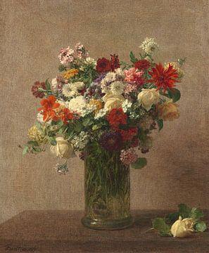 Bloemen uit Normandië, Henri Fantin-Latour