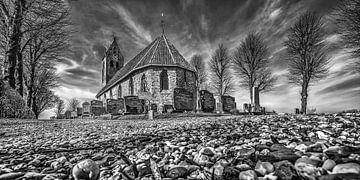 Het kerkje van Jelsum van Harrie Muis