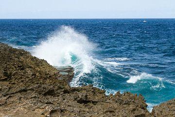Curacao, ruige kust no. 1 von Arnoud Kunst