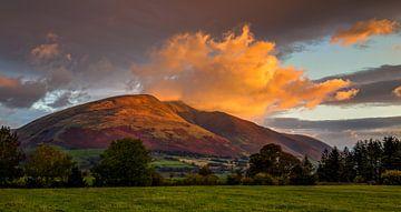 Blencathra Sunrise, England von Adelheid Smitt