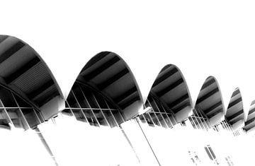 Canopies of Messe Hamburg van Norbert Sülzner