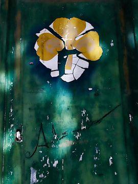Deur art van Gerda Woltinge