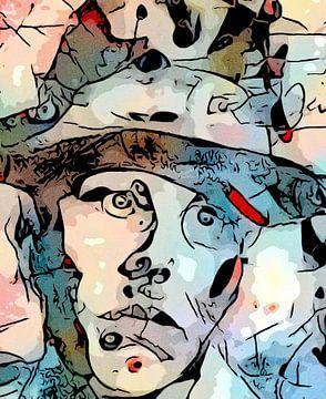 De zijdenker (Joseph Beuys) van zam art
