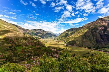 De Heilige Vallei (Valle Sagrado) in Peru, Zuid-Amerika van WorldWidePhotoWeb
