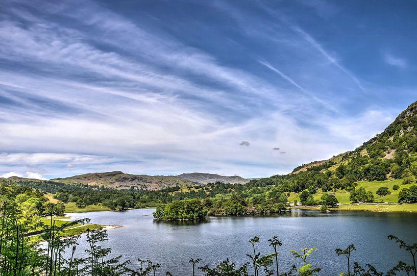 Rydal Water, Lake District van Frans Blok