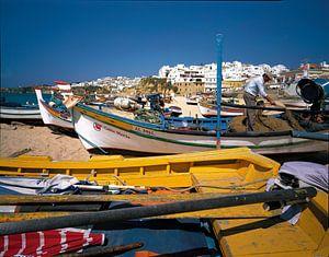 Albufeira, Algarve, Portugal van Rene van der Meer