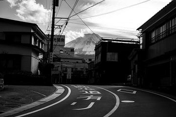 Mount Fuji vanuit Fujikawaguchiko gezien von mr. Stam