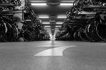 Rotterdam CS - fietsenstalling von Linda Slingerland
