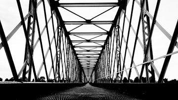 Spoorbrug Sully sur Loire von Michiel Wijnbergh