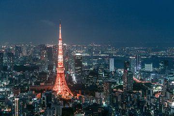 Tokyo Turm (Teil 2) von Maarten Mensink