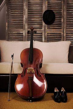 Das Cello von Dick Carlier