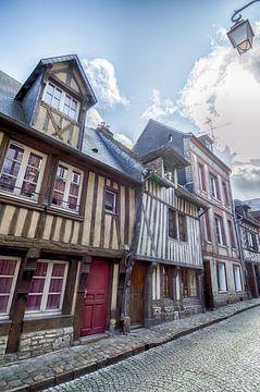 Fachwerkhäuser in Frankreich von