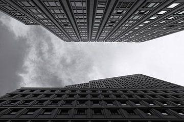 Hochhausfassaden von Frank Herrmann