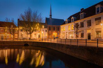 Amersfoort-Kanal am Abend von Michiel Dros