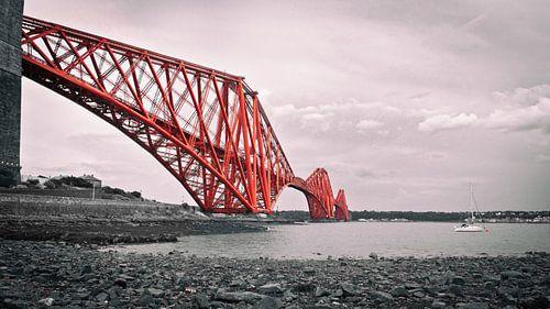 Forth Bridge Scotland van Annemiek van Eeden