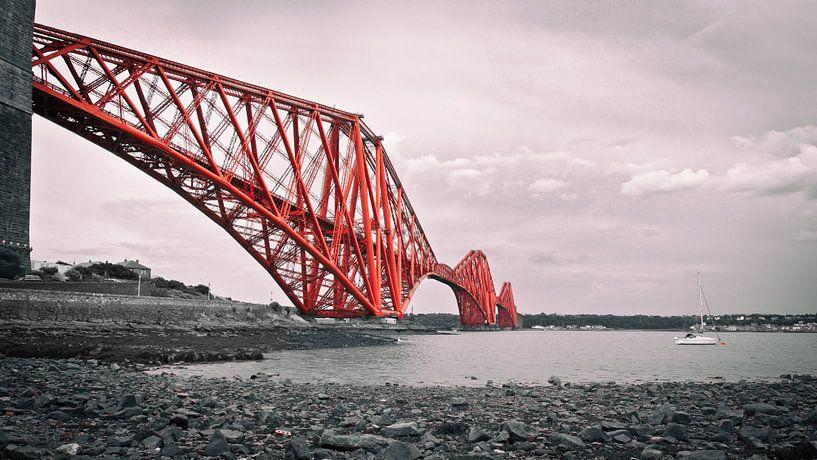 Forth Bridge Scotland von Annemiek van Eeden