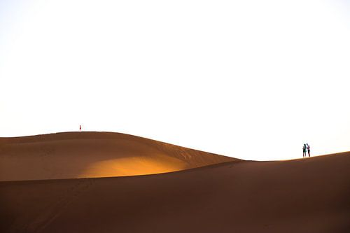 Golvende Woestijn: Erg Chegaga, Marokko