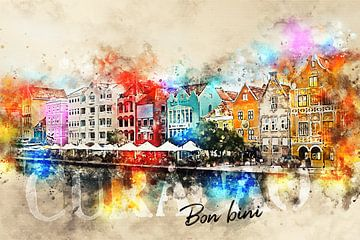 Bon bini Curacao! von Sharon Harthoorn